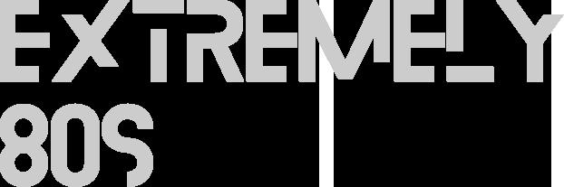 Extremely 80's Internet Radio Logo